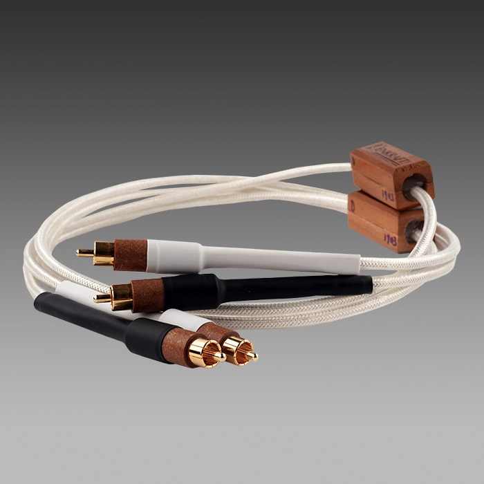 The Zeus Analog Interconnect RCA Kenkraft Labs Best Audio Cables